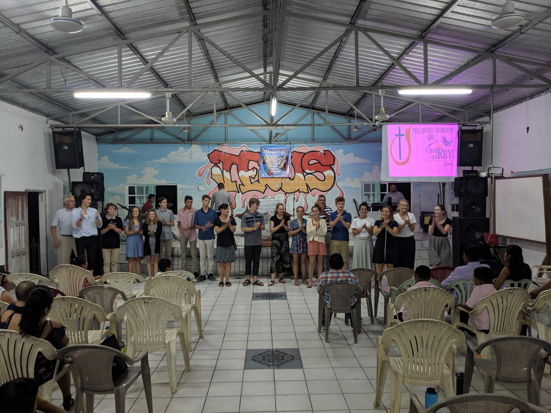 Sunday Evening Service - Trinity Lutheran Church in Belize
