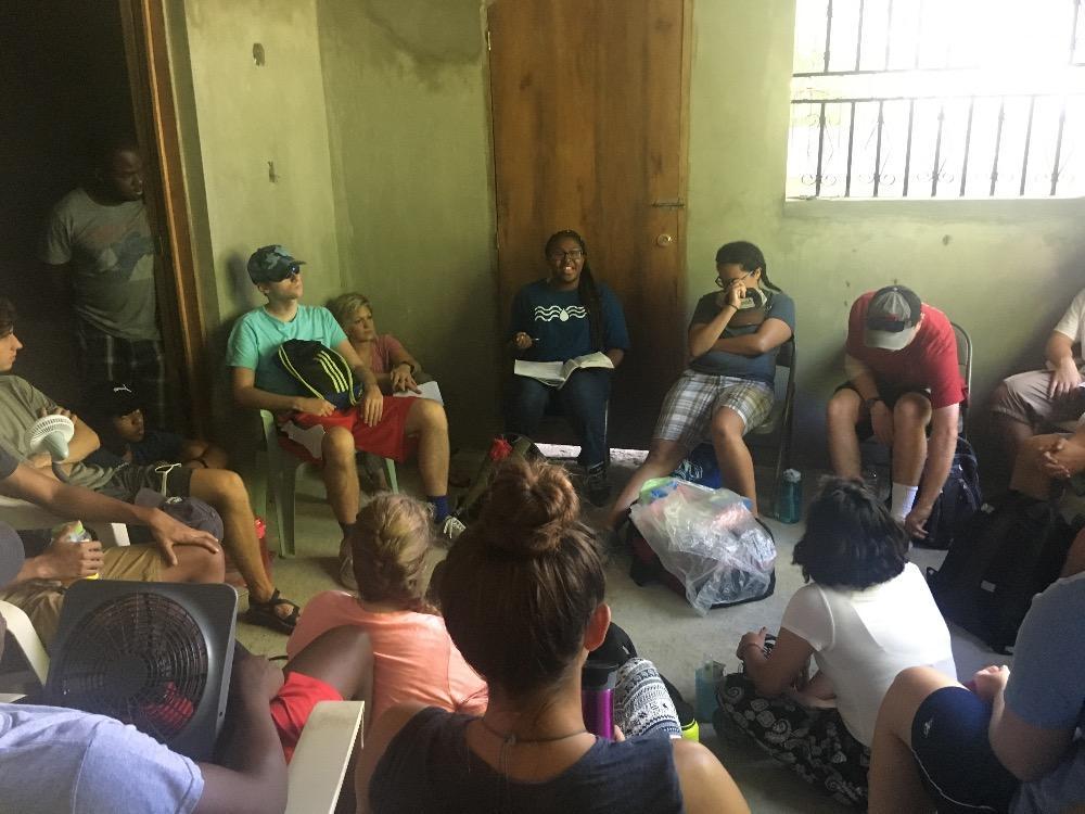 Devotions - Columbia Baptist Church in Haiti - July 20, 2017